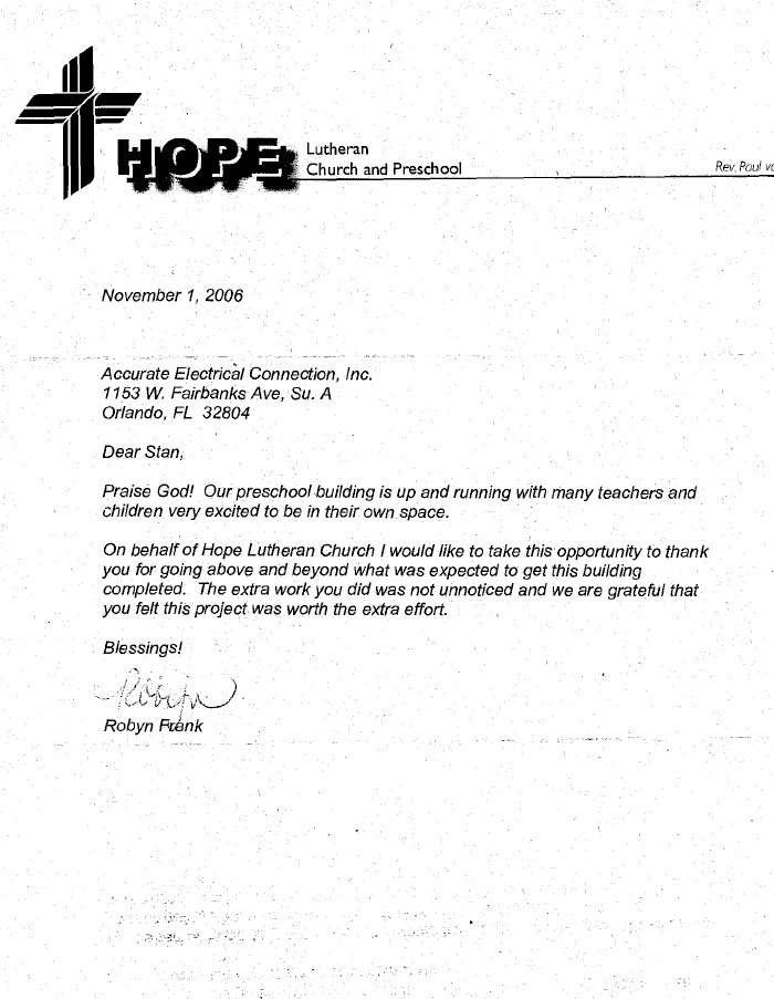 Example Of A Testimonial Letter From Church - Cover Letter ...
